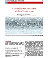 A-Multidisciplinary-Approach-to-Mind-and-Consciousness